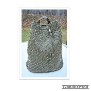 Deux Lux woven backpack